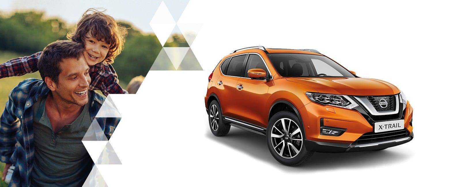 Nissan X-Trail Orange