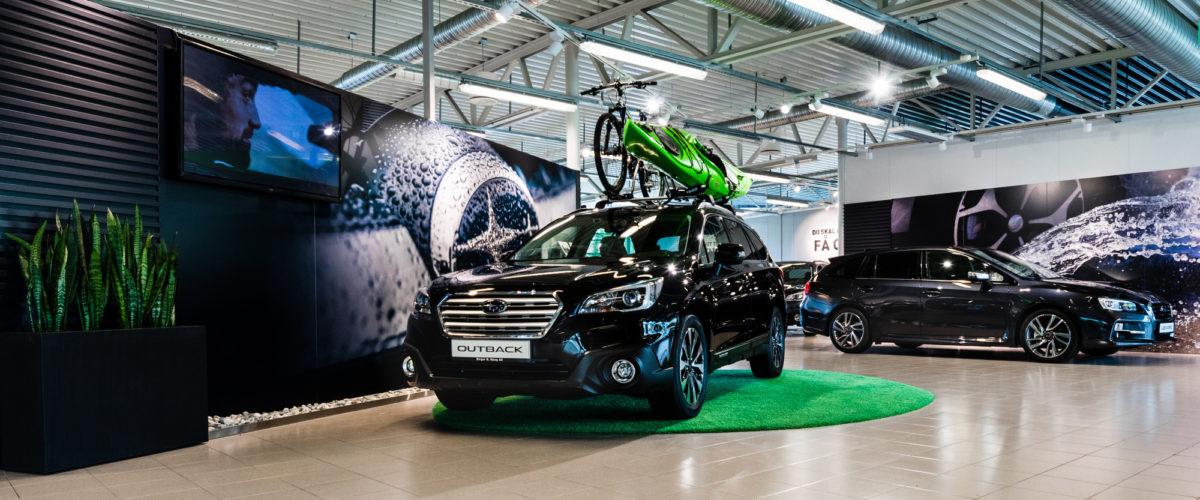 Nyåpning av Subaru Oslo