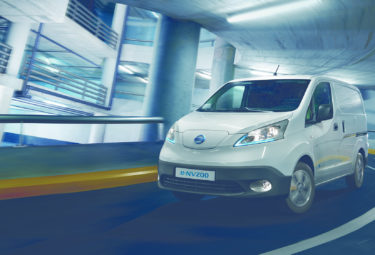 Elektrisk varebil Nissan eNV200