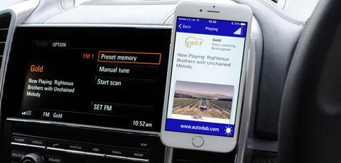 SmartDAB - for alle biler med FM-radio