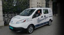 1 Hjelpende Hånd, Birger N. Haug elektrisk varebil, Nissan