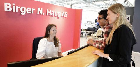 Birger N. Haug tilbyr meget gunstig langtidsleie