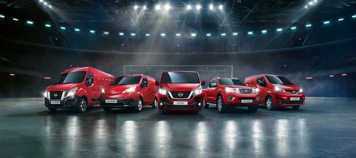 Nissan varebil