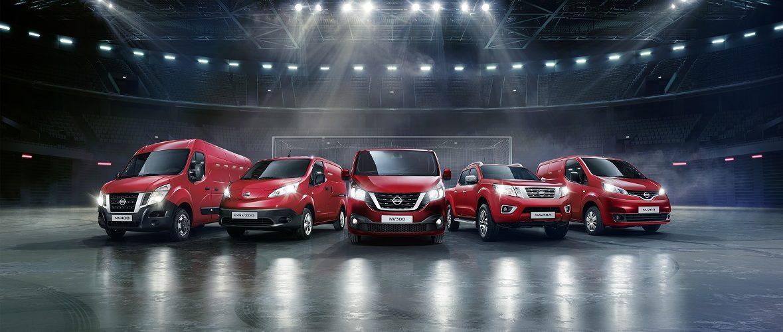 Nissan varebil range