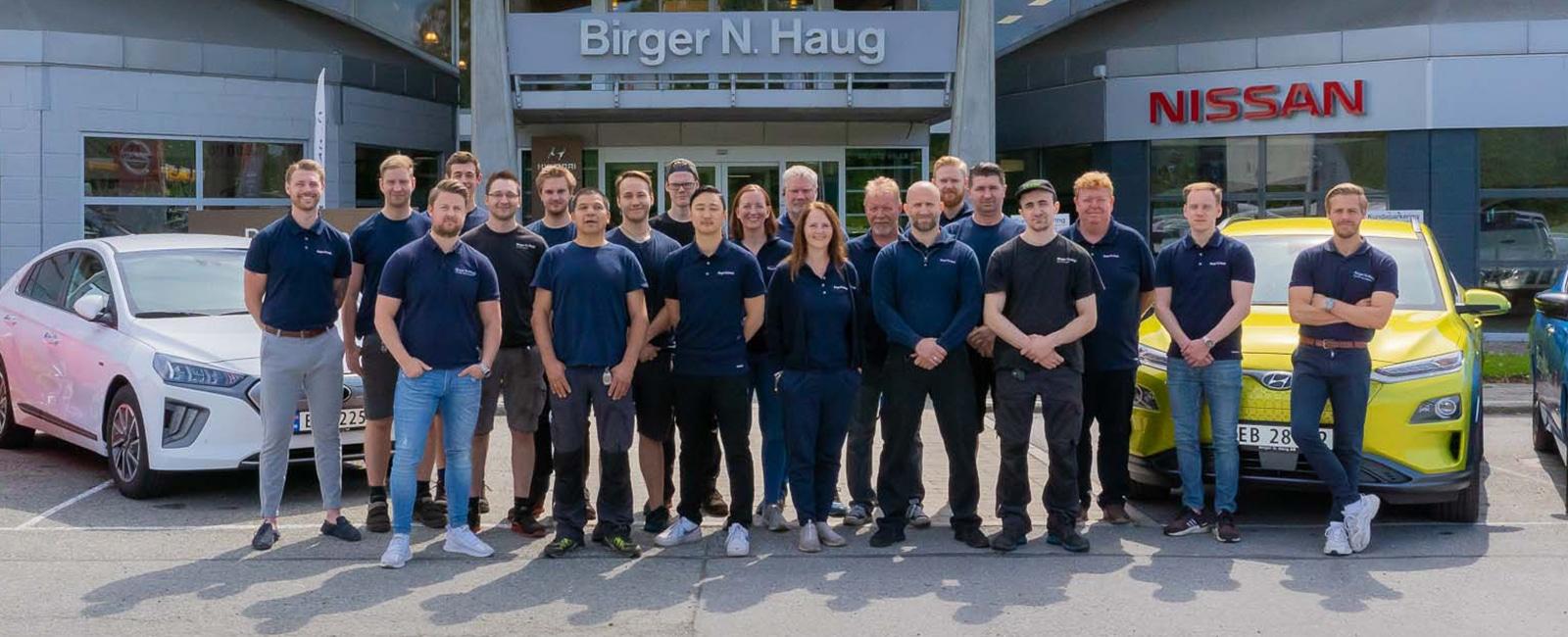 Ansatte Birger N. Haug Drammen