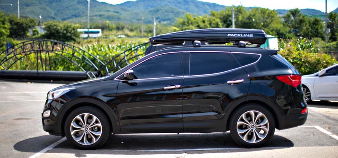Hyundai Santa-Fe med Packline FX SUV takboks