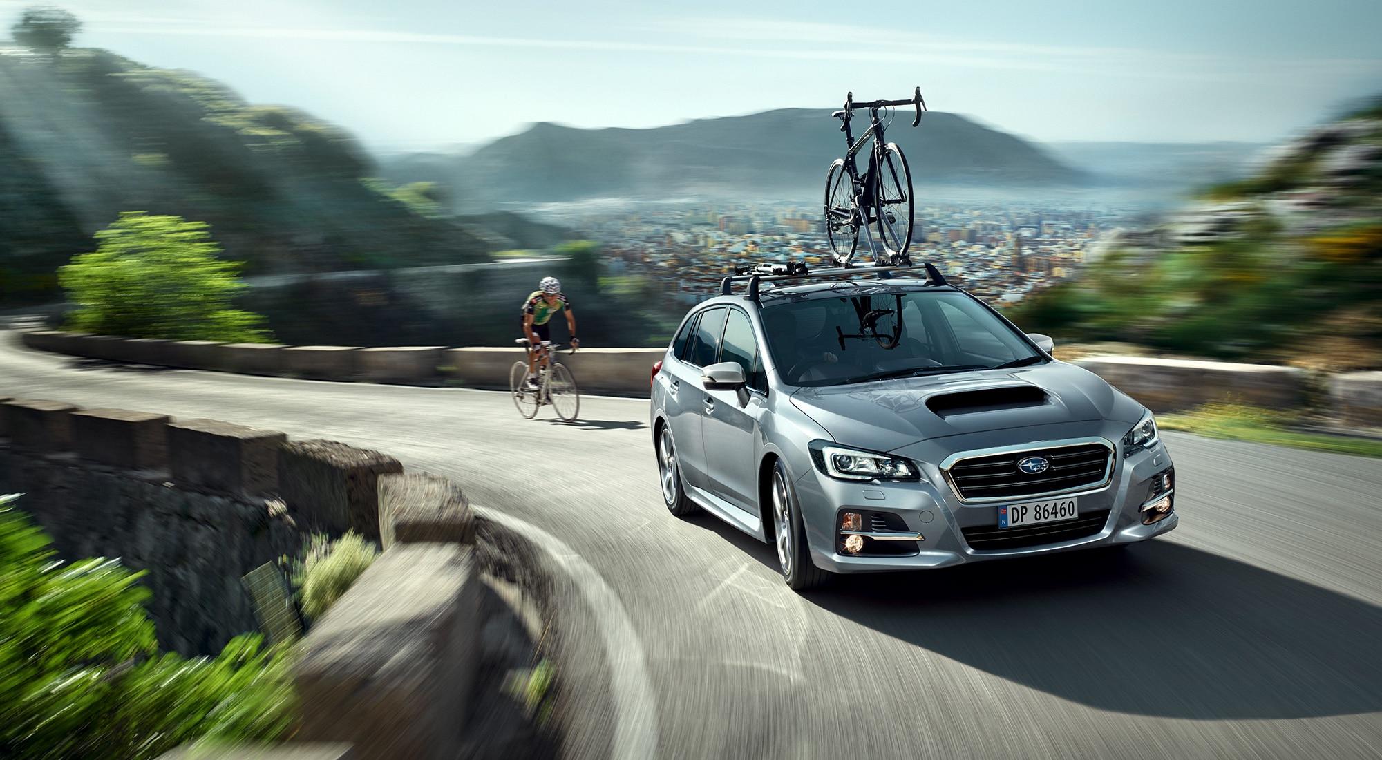 Subaru Levorg på sommerføre