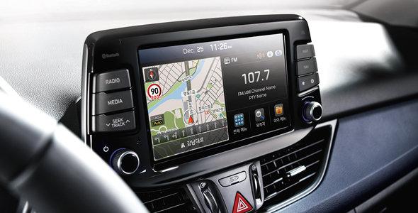 Touch-navigasjon med 8