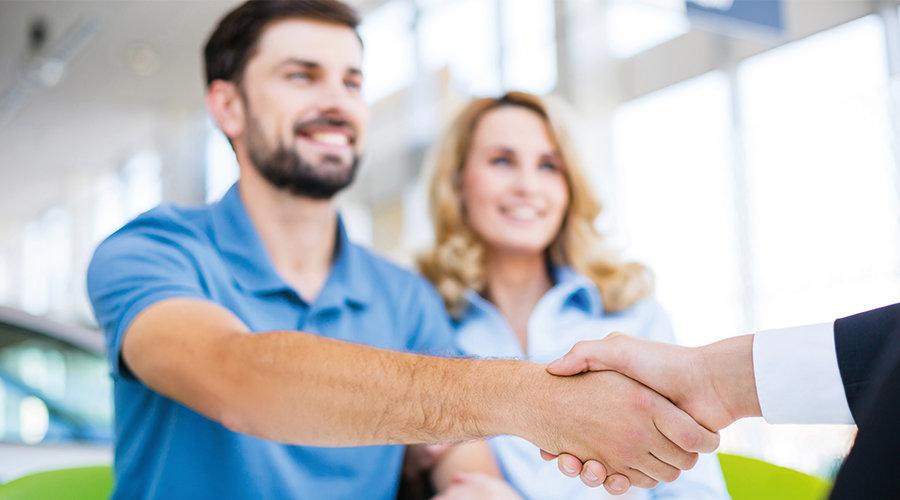 Avtale om finansiering, håndtrykk