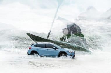 Nye Subaru XV kajakk
