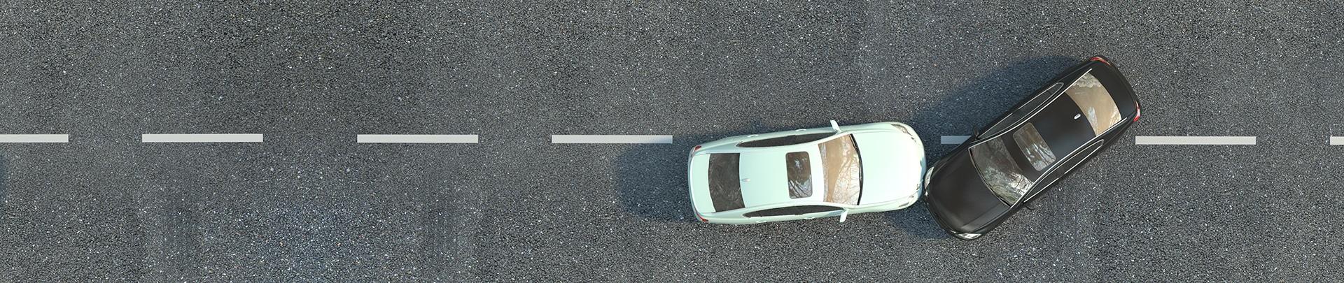 skade bilkollisjon