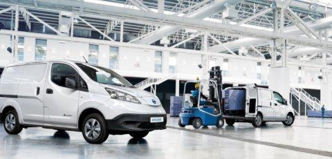 Nissan eNV200 elektrisk varebil