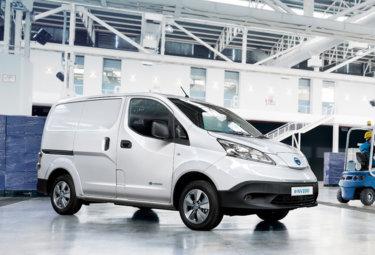 Nye Nissan e-NV200 elektrisk varebil