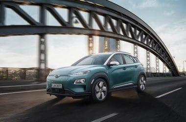 Hyundai KONA electric grønn