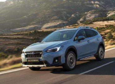 Subaru XV Hybrid på veien