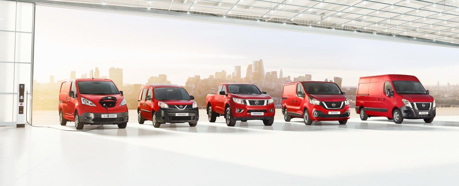 Nissan varebil - range
