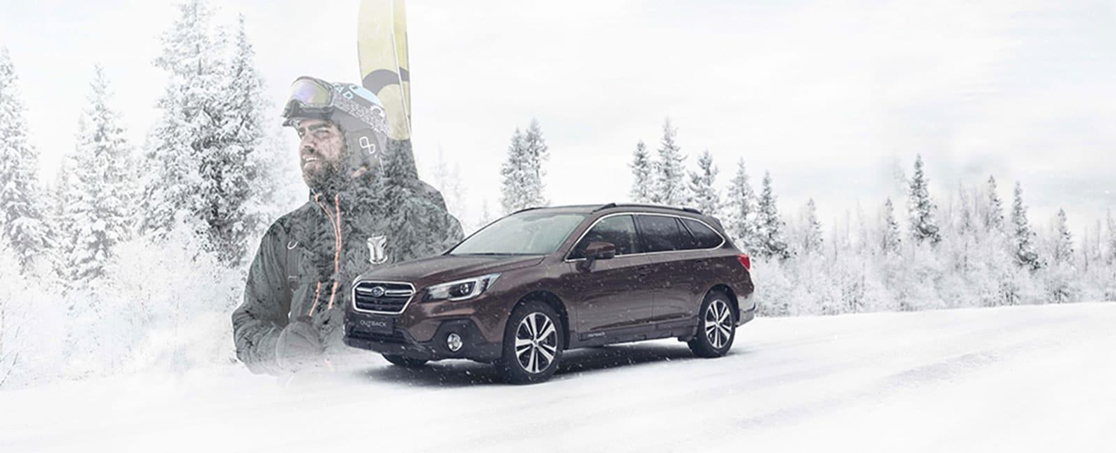 Subaru Outback vinterføre