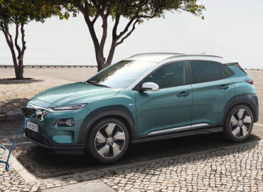 Hyundai KONA electric lader