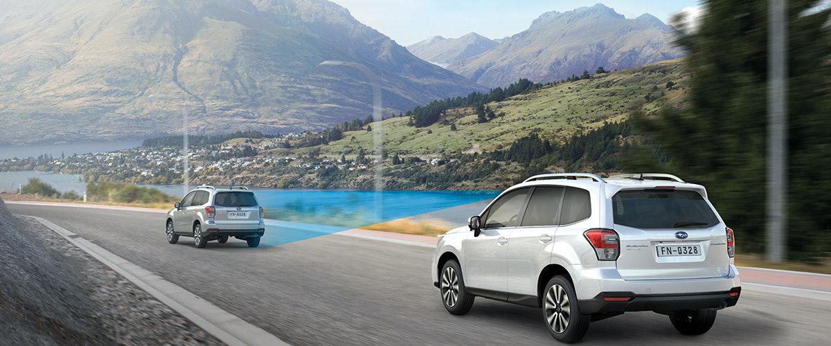 Subaru EyeSight førerassistansesystem