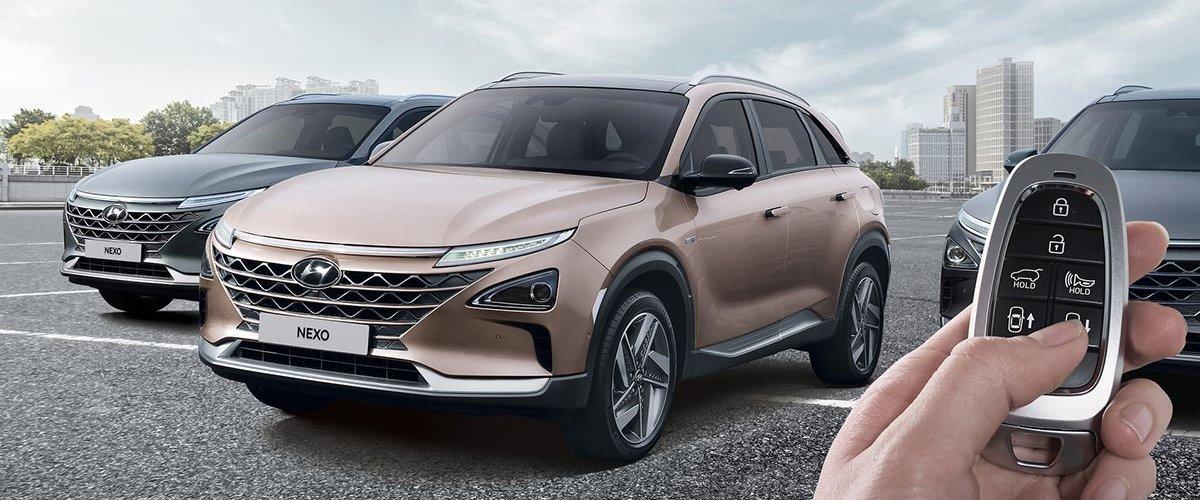 Hyundai Nexo - parkert