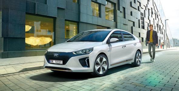 Testvinneren Hyundai IONIQ kr 2 790,- pr. mnd.