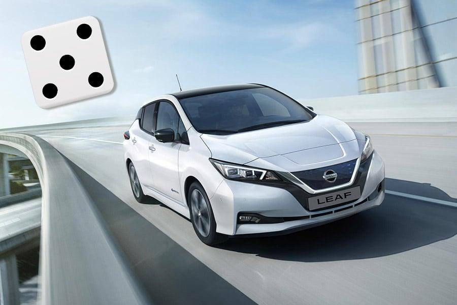 Nissan LEAF terningkast fem