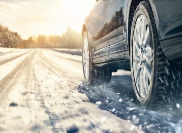 Continental vinterdekk - Bil på vinterføre