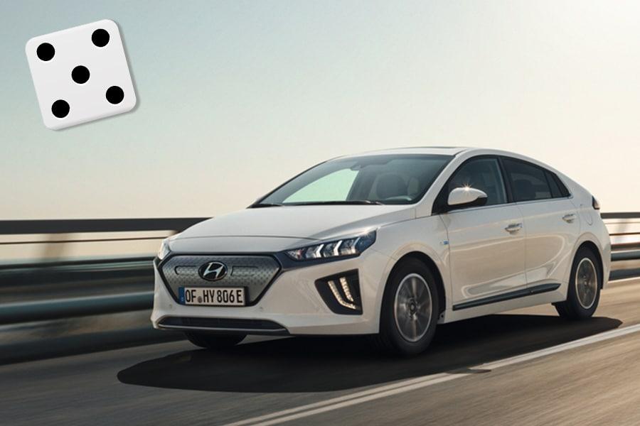Hyundai Ioniq electric - terningkast fem