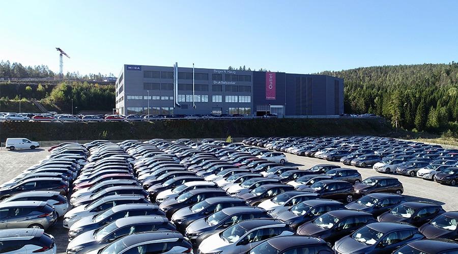 Bilde 15 000 biler klargjøres hvert år