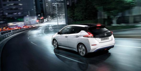 Prøvekjør Nissan LEAF 40 kWt