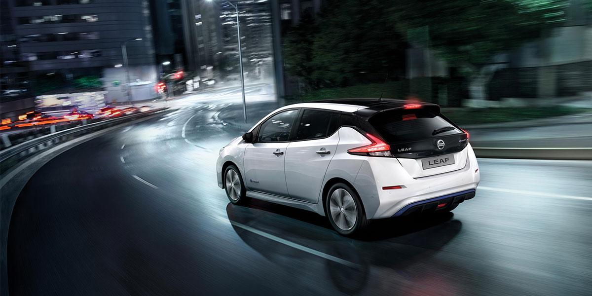 Nissan Leaf 2-tone 40kWt