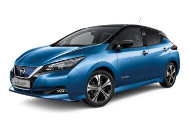 Forsidebilde Nissan Leaf 2-tone Blue Black