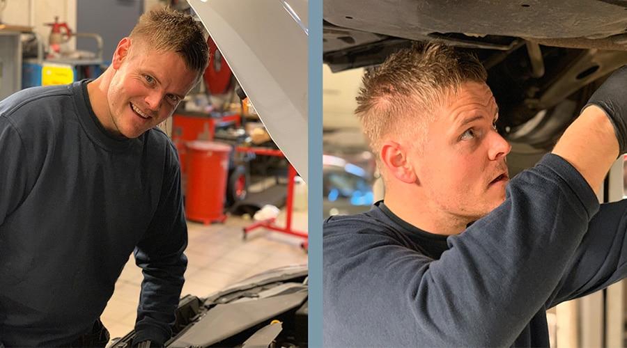 Bilde En av Norges beste Hyundai-teknikere