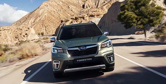 Test av Subaru Forester Hybrid