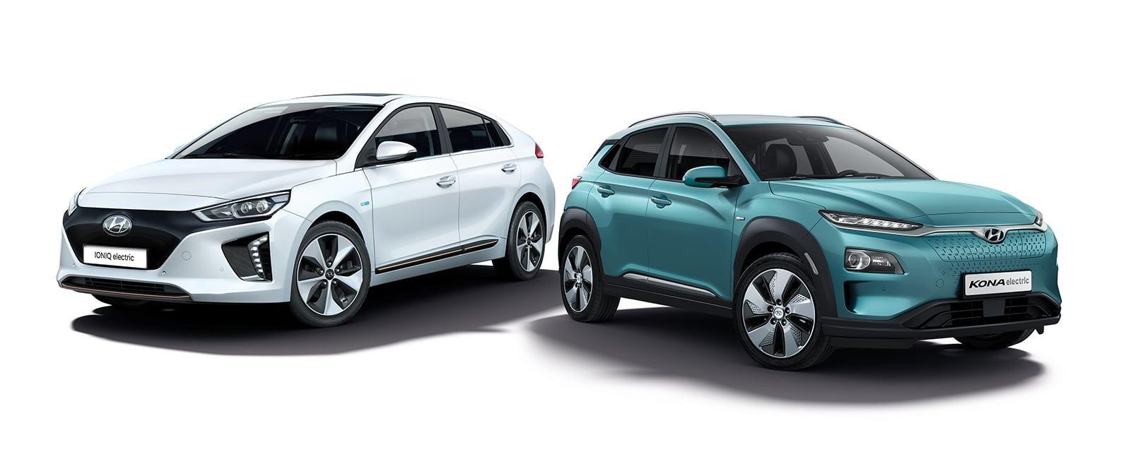 Hyundai IONIQ og Hyundai KONA