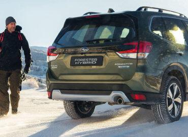 Subaru Forester Hybrid skitur