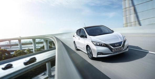 0,25 % ved kjøp av Nissan LEAF