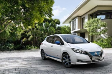 Nissan LEAF e+ 62kWt Grønne omgivelser