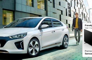 Hyundai Ioniq Electric Vinn TV