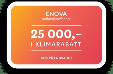 Kjøp e-NV 200 VAN og få enova-støtte