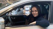 Bestill bil gjennom SHFT-appen