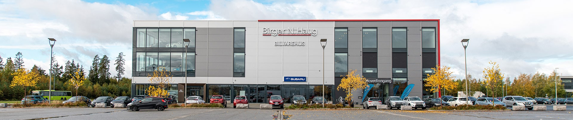 Bygg ute Birger N. Haug Gardermoen