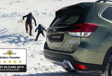 Subaru Forester - 5 stjerner i Euro NCAP