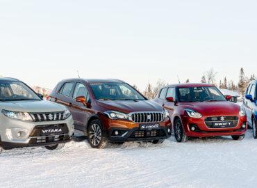 Suzuki på vinterføre